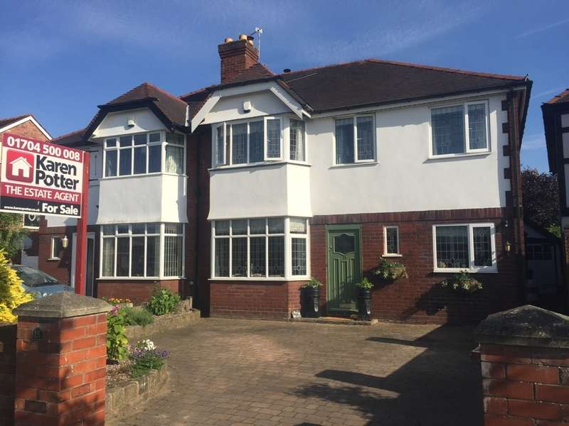 4 Bedrooms Semi Detached House for sale in Radnor Drive, Churchtown, Southport