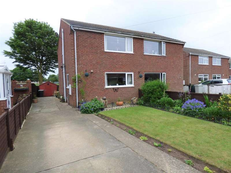 2 Bedrooms Semi Detached House for sale in Evison Way, North Somercotes, Louth, LN11 7PE