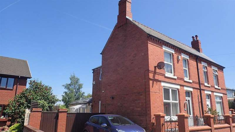 3 Bedrooms Semi Detached House for sale in Chapel Street, Ponciau, Wrexham
