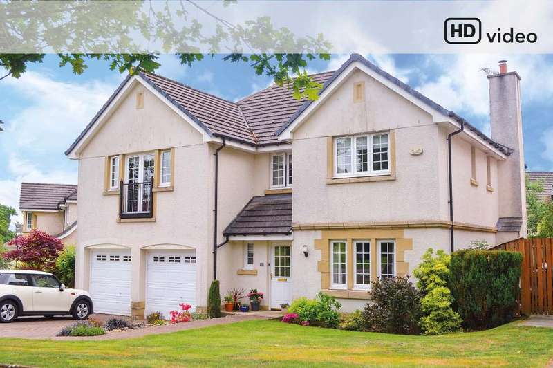 5 Bedrooms Detached House for sale in Braid Drive, Cardross, Dumbarton, G82 5QD