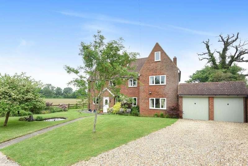 4 Bedrooms Detached House for sale in Mortimer Lane, Mortimer, RG7