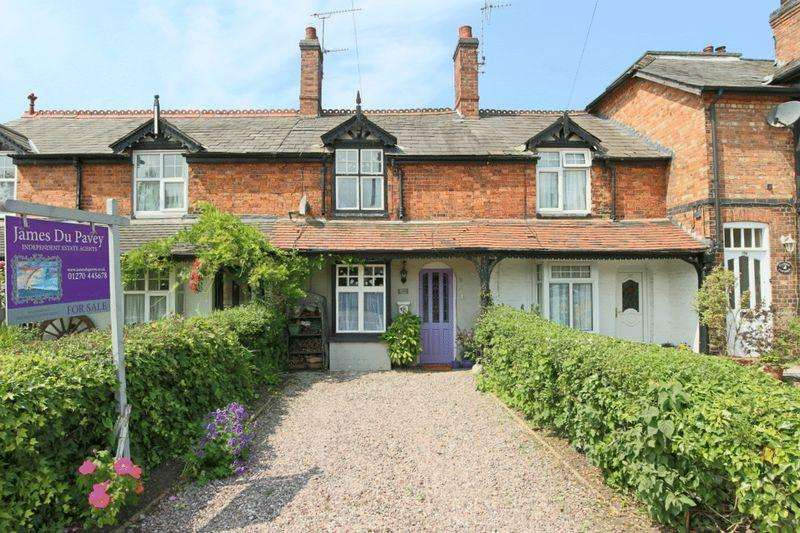 3 Bedrooms Terraced House for sale in Audlem Road, Nantwich