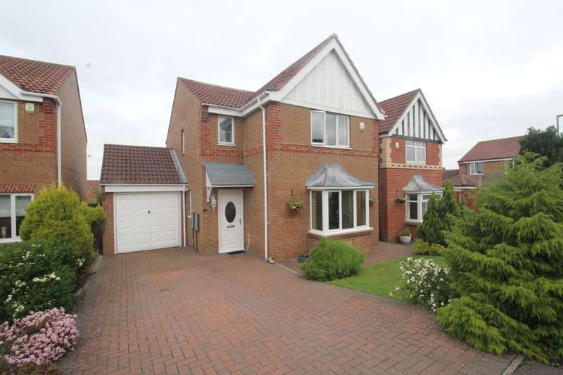 3 Bedrooms Detached House for sale in The Hawthorns, STANLEY, DH9