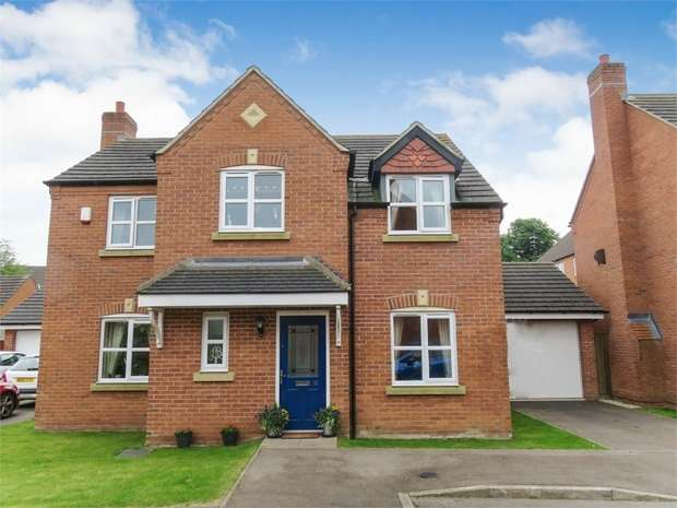 4 Bedrooms Detached House for sale in Pickering Place, Burbage, Hinckley, Leicestershire