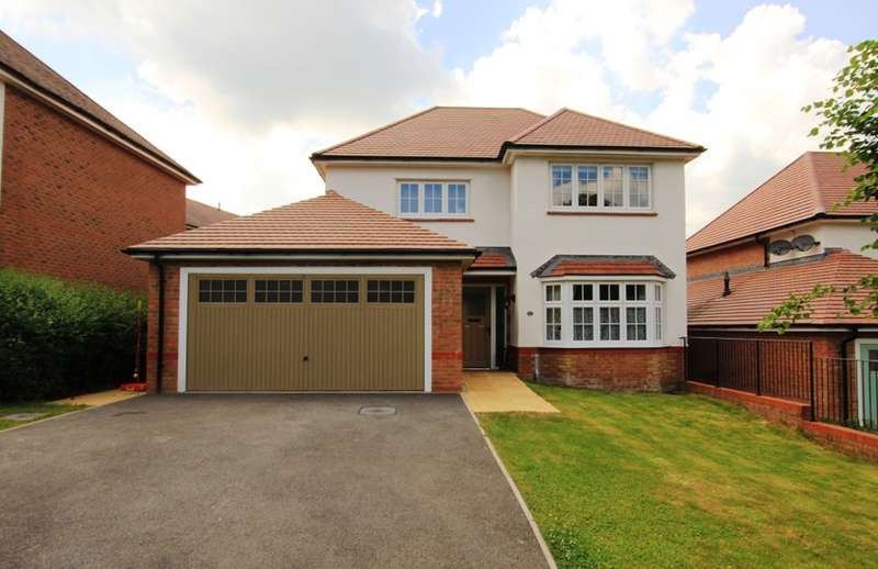 4 Bedrooms Detached House for sale in Primrose Drive, Newton Abbot