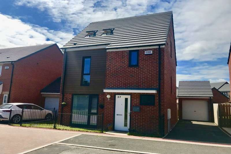 4 Bedrooms Detached House for sale in Innovation Avenue, Lower Hartburn, Stockton-On-Tees, TS18