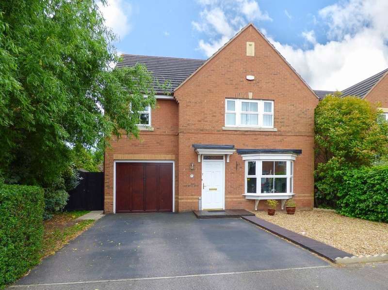 4 Bedrooms Detached House for sale in Sandleford Drive, Elstow, Bedfordshire, MK42 9GL