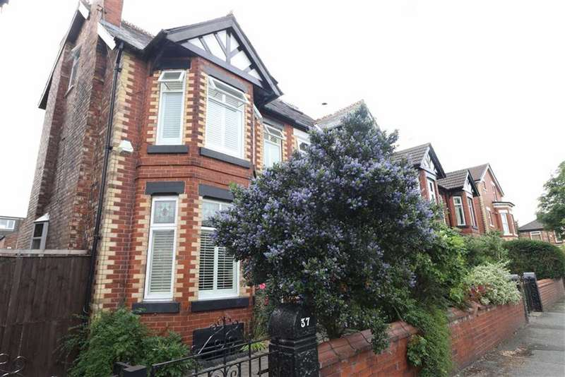 4 Bedrooms Semi Detached House for sale in Hartington Road, Chorlton, Manchester, M21