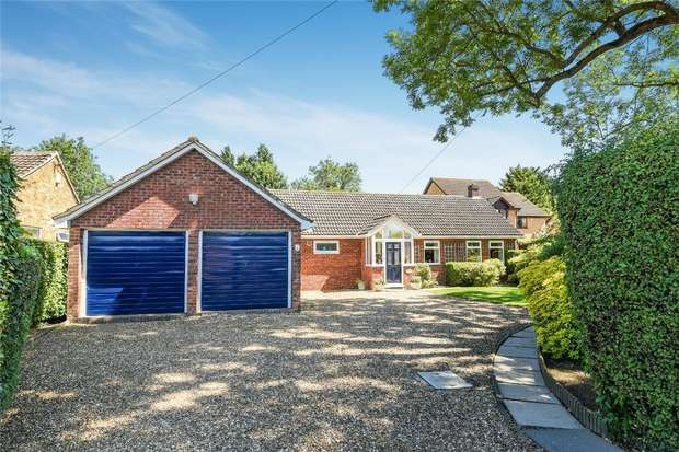 3 Bedrooms Detached Bungalow for sale in Green End Road, Great Barford, Bedford