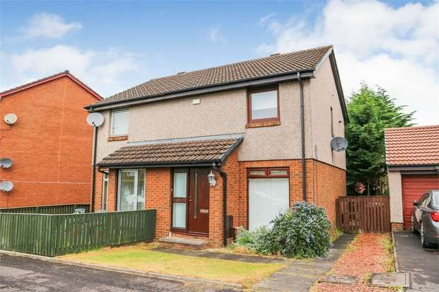 2 Bedrooms Semi Detached House for sale in Letheron Drive, Wishaw, North Lanarkshire