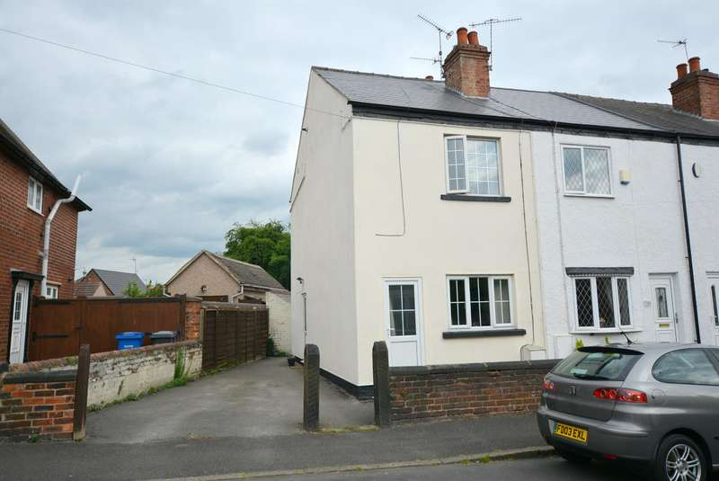 2 Bedrooms End Of Terrace House for sale in School Board Lane, Brampton, Chesterfield, S40