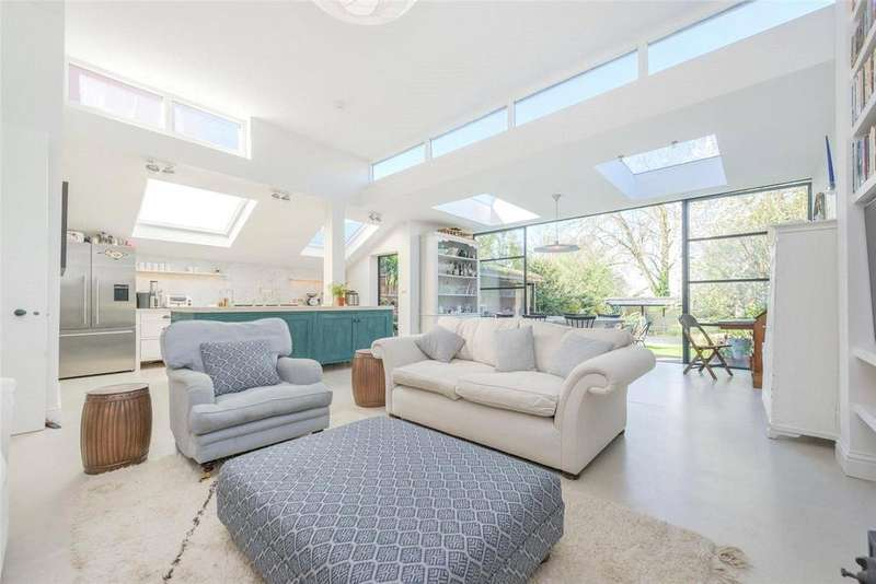 4 Bedrooms Semi Detached House for sale in Longstone Avenue, London, NW10