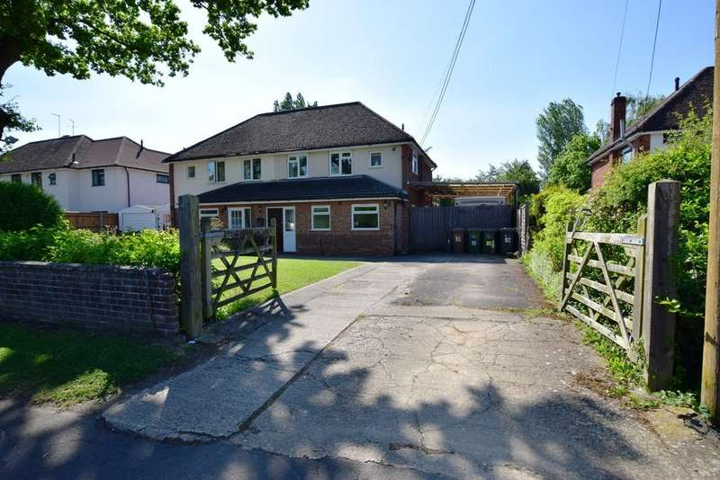 4 Bedrooms Semi Detached House for sale in South Lane, Ash, GU12