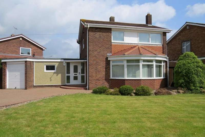 3 Bedrooms Detached House for sale in Wansbeck Avenue, Wansbeck Estate, Stakeford