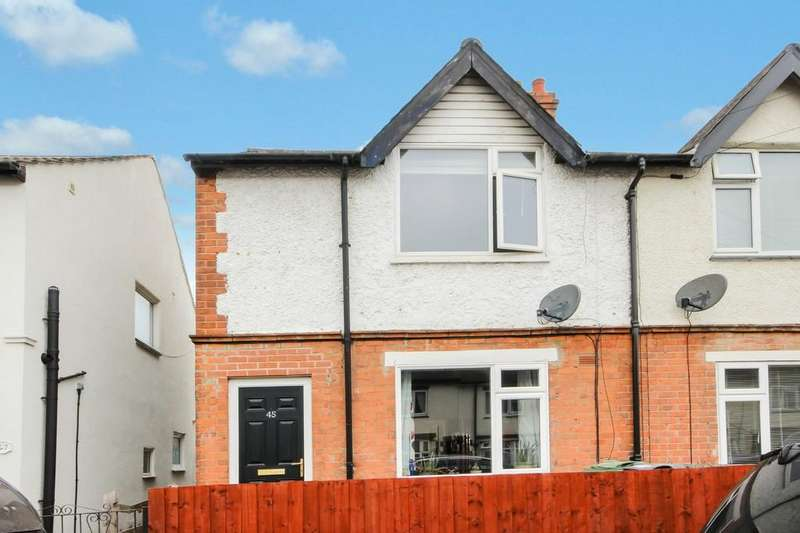 3 Bedrooms Semi Detached House for sale in King Edward Road, Loughborough