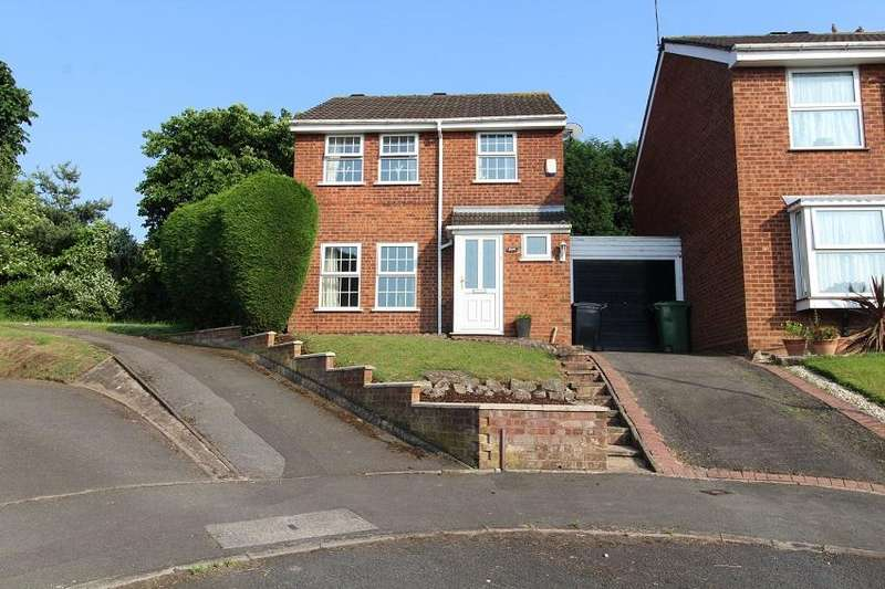 3 Bedrooms Detached House for sale in Stanhoe Close, Brierley Hill, West Midlands DY5