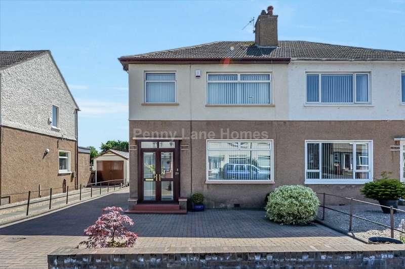 2 Bedrooms Semi Detached House for sale in Gleniffer Road, Renfrew