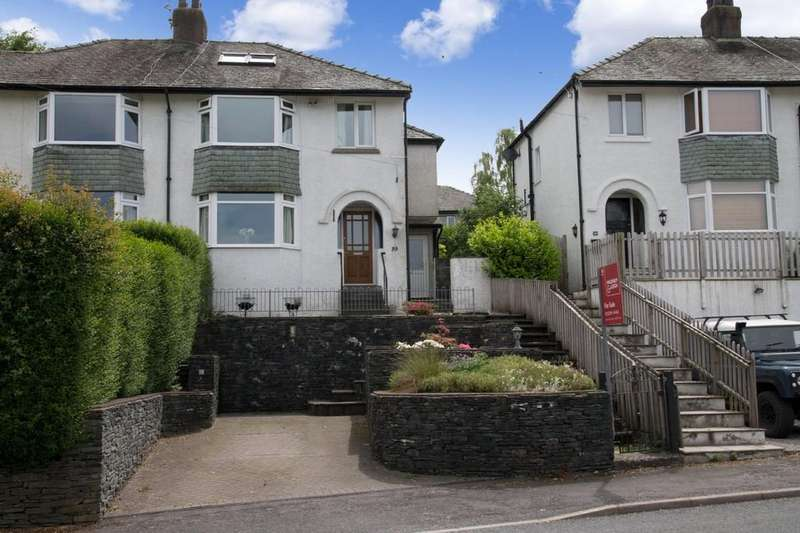 4 Bedrooms Semi Detached House for sale in 39 Oakthwaite Road, Windermere, Cumbria, LA23 2BD