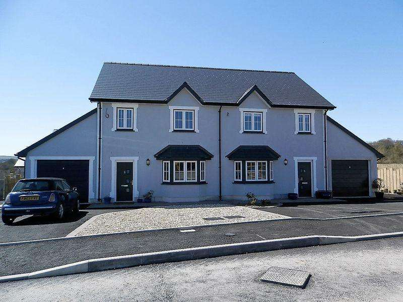 8 Bedrooms Detached House for sale in Aberbanc, Penrhiwllan
