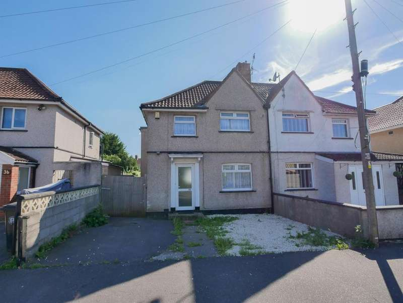 3 Bedrooms Semi Detached House for sale in Bantry Road , Knowle, Bristol, BS4 1JU