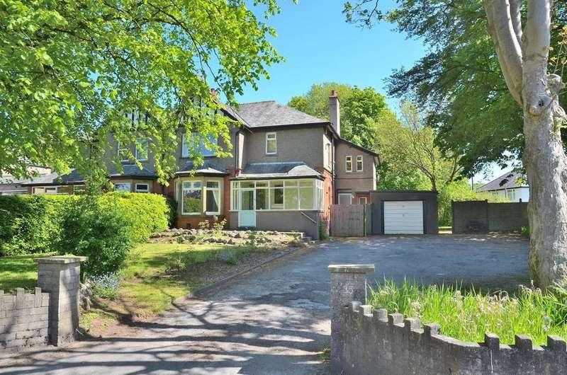 4 Bedrooms Semi Detached House for sale in A large corner plot home on Hest Bank Lane
