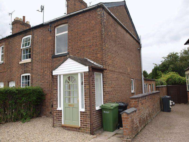 2 Bedrooms End Of Terrace House for sale in London Road, Northwich, CW9 8DX
