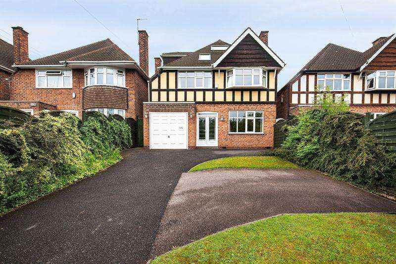 4 Bedrooms Detached House for sale in East View Road, Sutton Coldfield