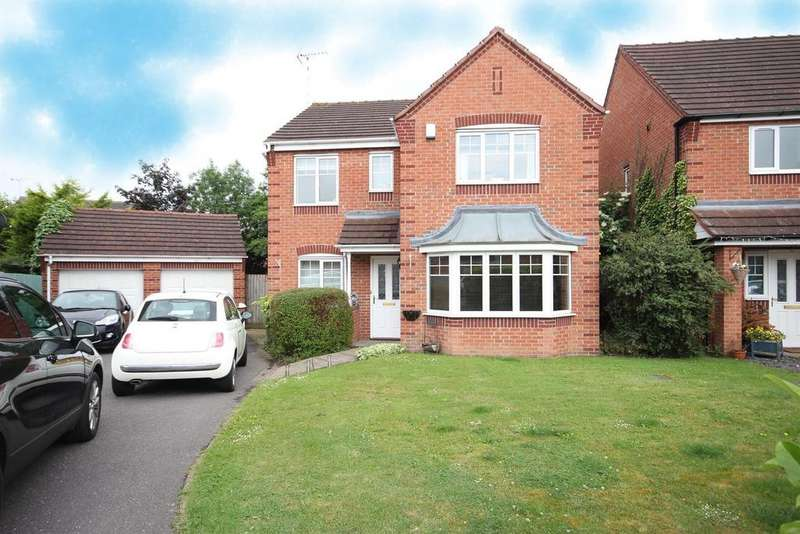 4 Bedrooms Detached House for sale in Kyle Road, Hilton, Derby