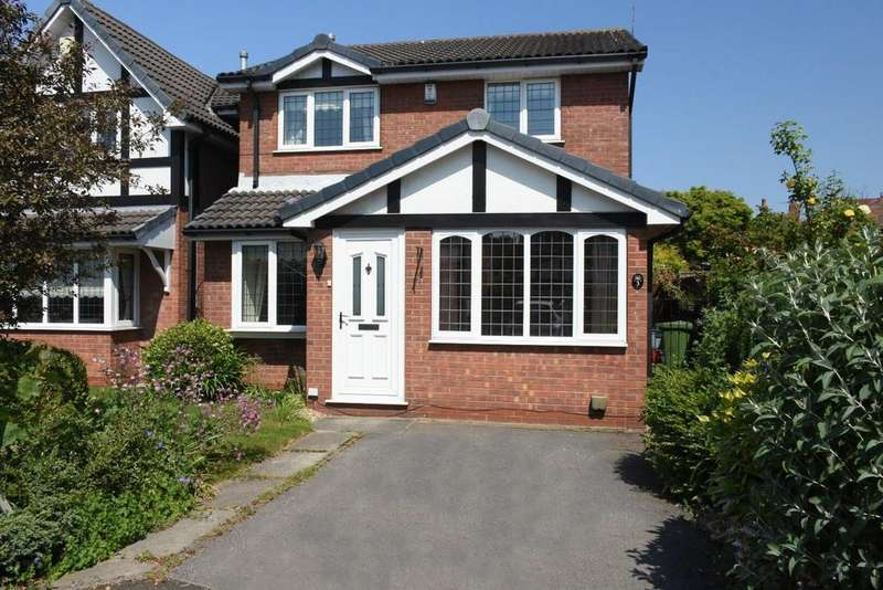 3 Bedrooms Detached House for sale in Tudor Close, Rudheath