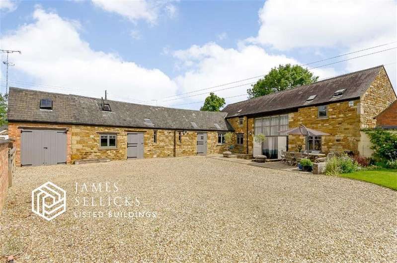 5 Bedrooms Barn Conversion Character Property for sale in Barnsdale, Great Easton, Market Harborough