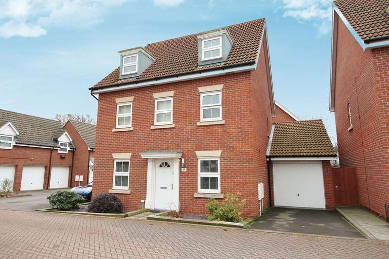 5 Bedrooms Detached House for sale in Hansen Gardens, Hedge End SO30