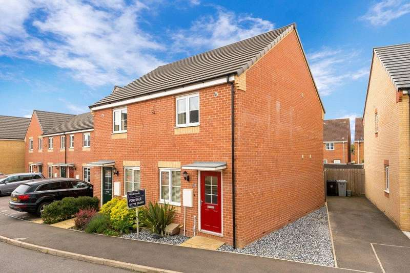 2 Bedrooms Semi Detached House for sale in Silverstone Road, Bourne, PE10