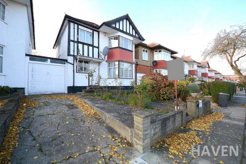3 Bedrooms Detached House for sale in Crespigny Road, Hendon, London, NW4