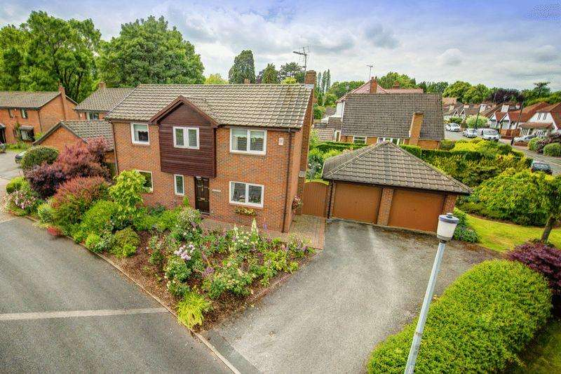 4 Bedrooms Detached House for sale in Nutwood Close, Darley Abbey