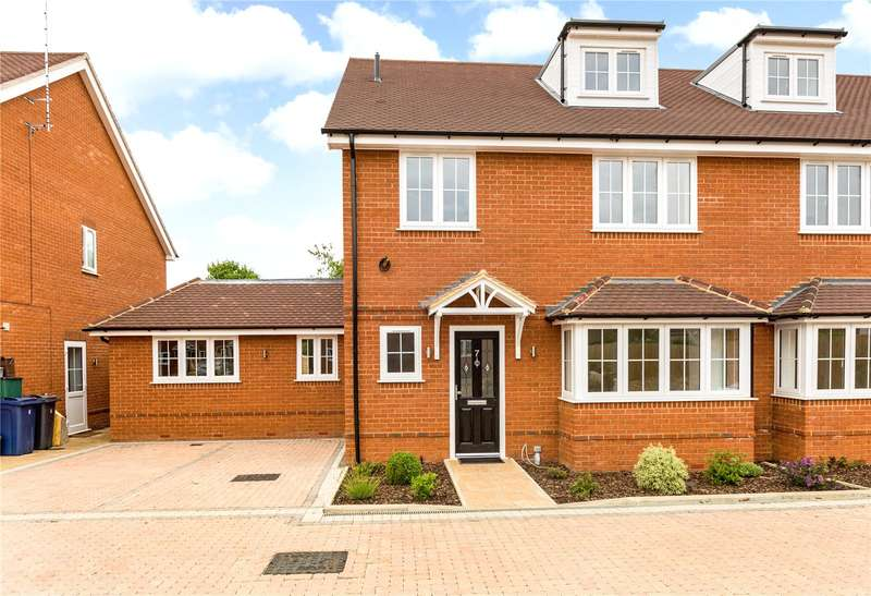 5 Bedrooms Semi Detached House for sale in Cressex Square, High Wycombe, Buckinghamshire, HP12