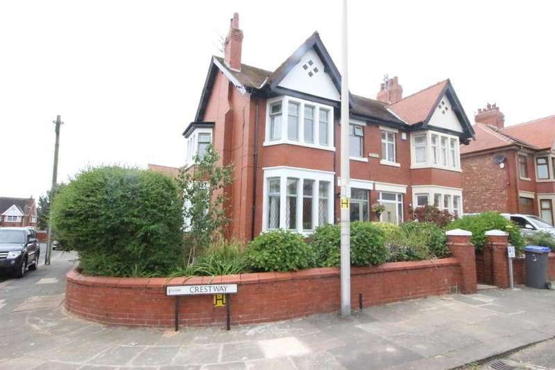3 Bedrooms Semi Detached House for sale in Crestway, Layton