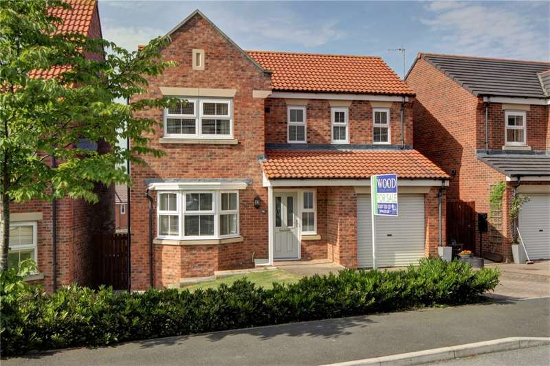 4 Bedrooms Detached House for sale in Orchard Grove, Stanley, County Durham, DH9
