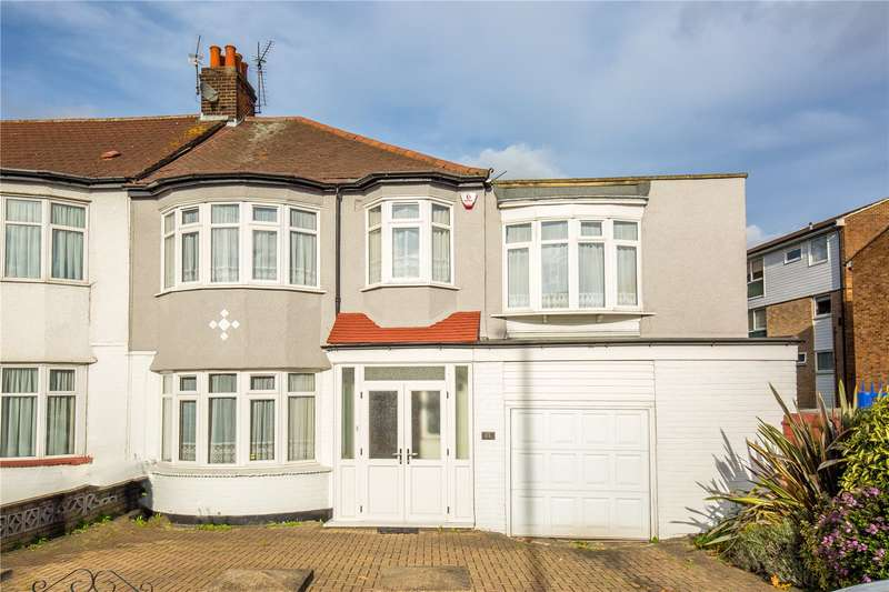 4 Bedrooms End Of Terrace House for sale in Hedge Lane, Palmers Green, London, N13