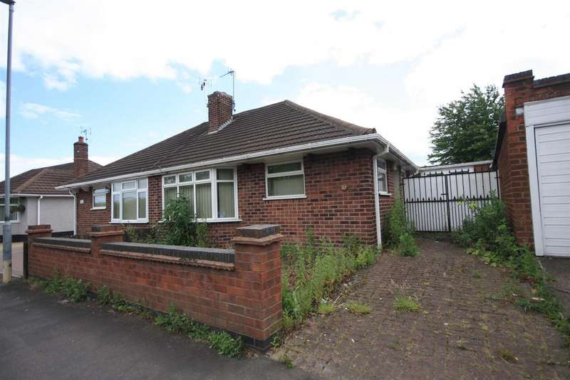 2 Bedrooms Bungalow for sale in Wayside Drive, Thurmaston, Leicester