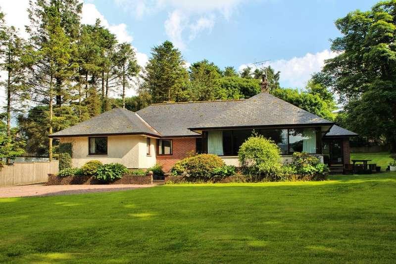 4 Bedrooms Detached Bungalow for sale in Orchard Villa, The Brae, Crocketford, Dumfries DG2