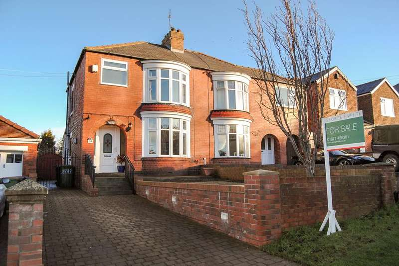 3 Bedrooms Semi Detached House for sale in Saltburn Lane, Skelton TS12