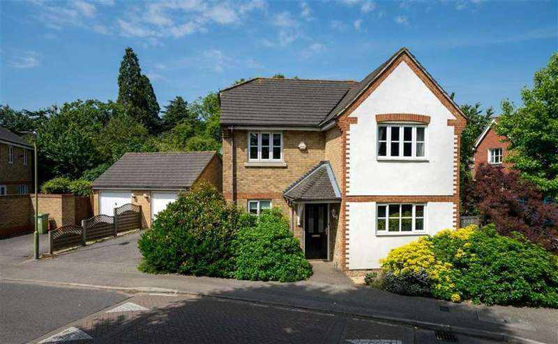 4 Bedrooms Detached House for sale in Sovereign Park, St Albans, Hertfordshire