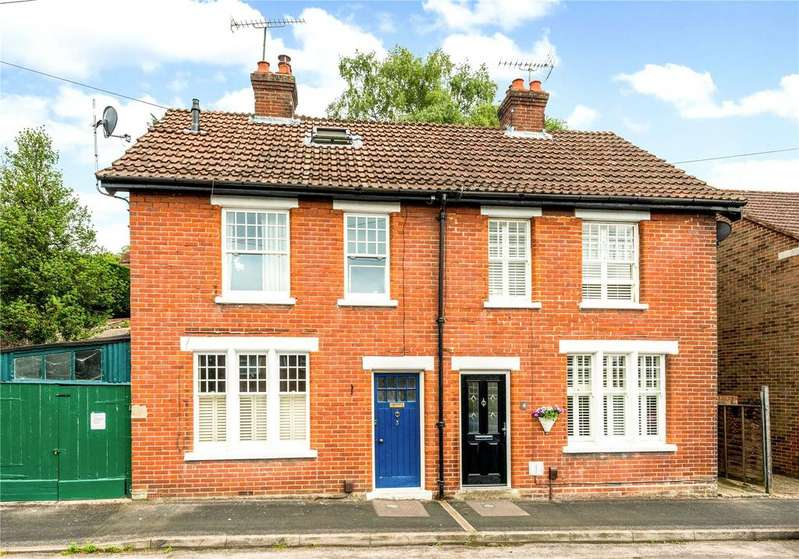 2 Bedrooms Semi Detached House for sale in Chester Road, Winchester, Hampshire, SO23