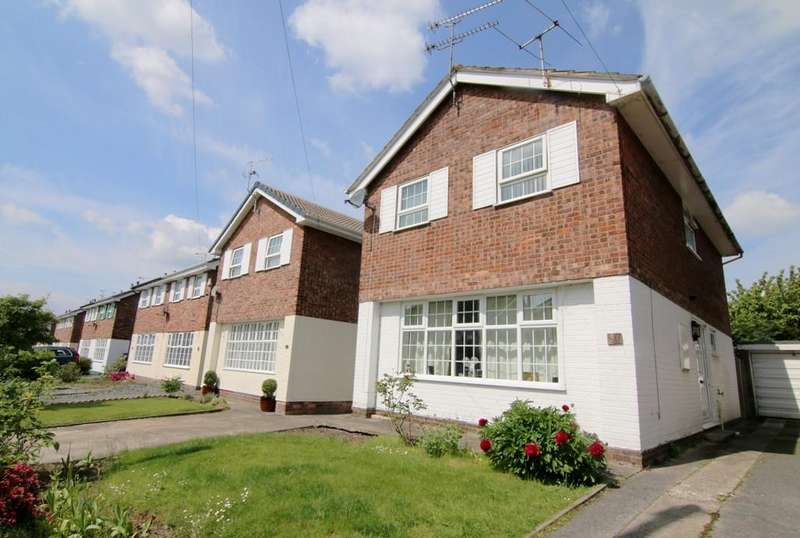 3 Bedrooms Detached House for sale in Langport Drive, Vicars Cross