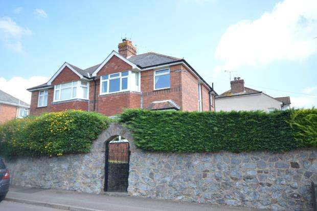 3 Bedrooms Semi Detached House for sale in Church Hill, Pinhoe, Exeter, Devon