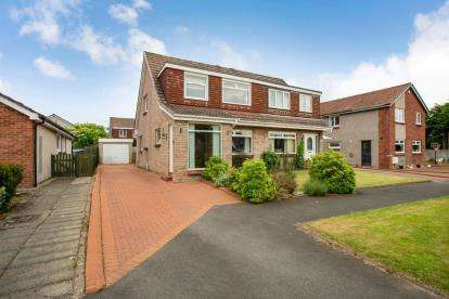 3 Bedrooms Semi Detached House for sale in Bruce Road, Bishopton