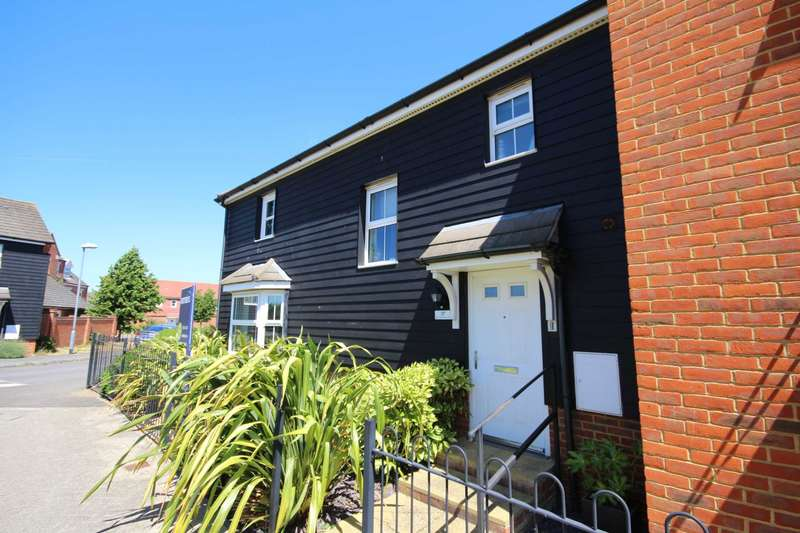 3 Bedrooms Terraced House for sale in Sparrowhawk Way, Jennett`s Park