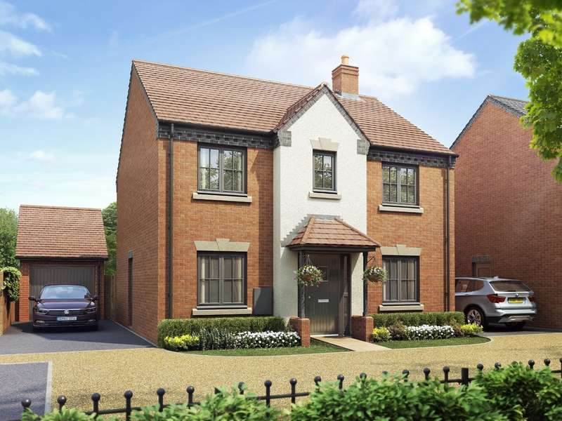 4 Bedrooms Detached House for sale in Plot 217 Mallory, Oakley Grove
