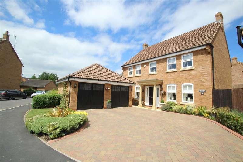 4 Bedrooms Detached House for sale in Brickhill Way, Calvert Green