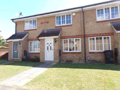 2 Bedrooms Terraced House for sale in Dorsey Drive, Bedford, Bedfordshire